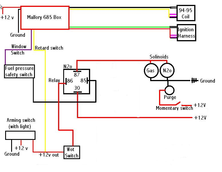 N2o 2 n20 wiring schematic chevy impala ss forum 1964 impala ss wiring diagram at n-0.co